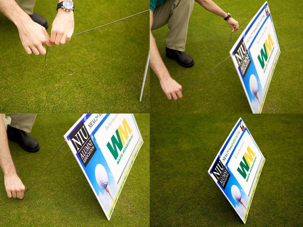 Tee Sign Set-up